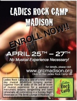 April 2014 Ladies Rock Camp – Register Now!