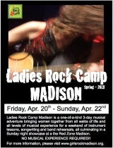 Ladies Rock Camp April Showcase